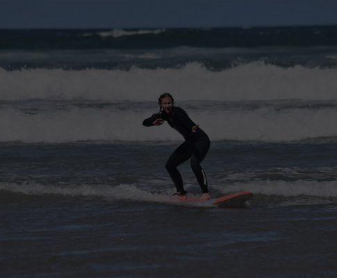 Auf den Wellen: schalte endlich deinen Kopf aus!!
