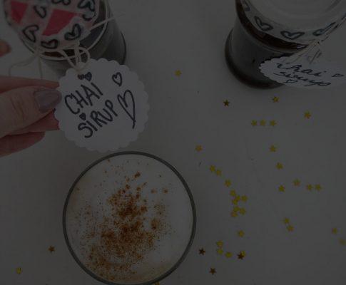 Chai-Latte Sirup selbstgemacht