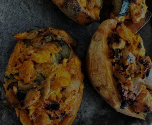 Fit n' Fast Food: Gefüllte Süßkartoffel #proteinreich #gesund #glutenfrei #lowfat