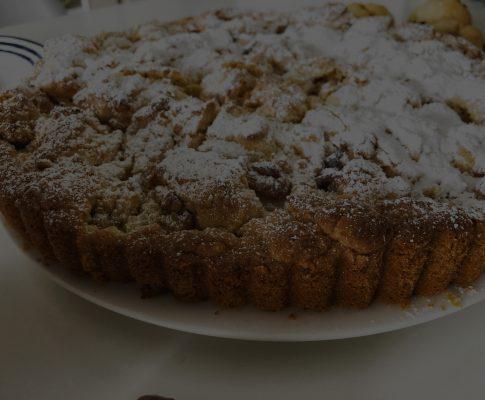 Apfel-Streusel-Kuchen mit frischen Boskoop Äpfeln
